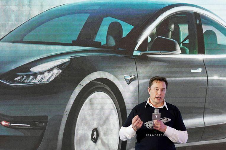 Tesla-CEO Elon Musk. Beeld REUTERS