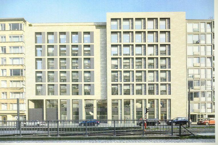 Een toekomstbeeld van de nieuwe gebouwen.