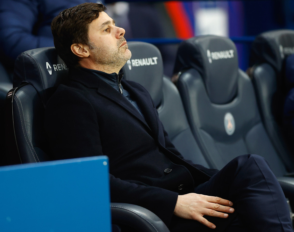 PSG-coach Mauricio Pochettino.