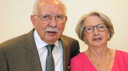 Diamanten huwelijk voor Jacques en Myriam