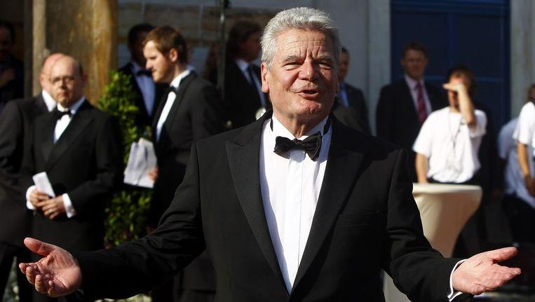 President Joachim Gauck van Duitsland. Beeld reuters