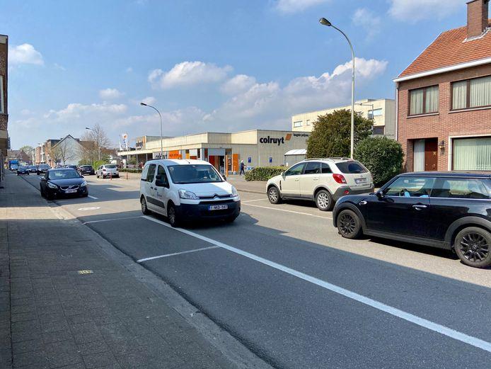 Vlaams Belang wil dat de flessenhals van de Zoerselsteenweg tussen de verkeerslichten en de rotonde veiliger wordt