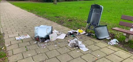Vuurwerkschade Cranendonck: zeven afvalbakken en een speeltoestel vernield
