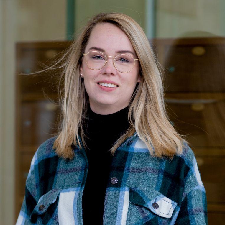 Daphne Molendijk: 'Mijn startersbaan betaalt prima, maar ik kan in een grote stad nog geen garagebox kopen.' Beeld Ines Vansteenkiste-Muylle