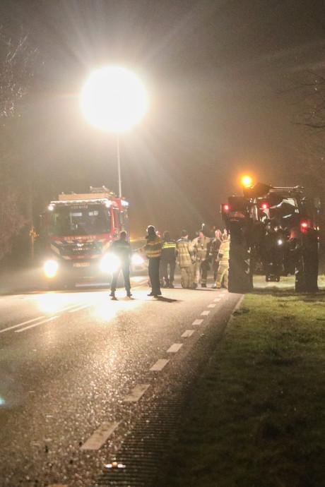 Anko was vanuit zijn tractor getuige van een drama: 'Auto zat opeens naast me'