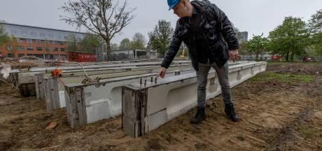Paviljoen TU Eindhoven leeft voort in studentenhuisvesting en skatehal Area51 na circulaire sloop