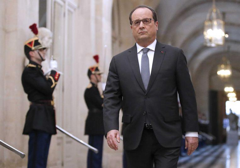 François Hollande.  Beeld AFP