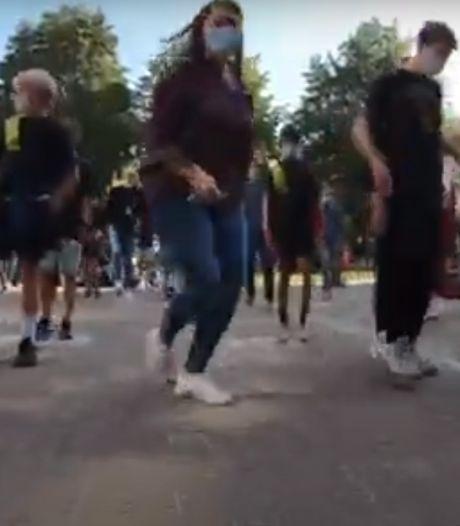Leerlingen en leraars KTA dansen massaal de 'Jerusalema'