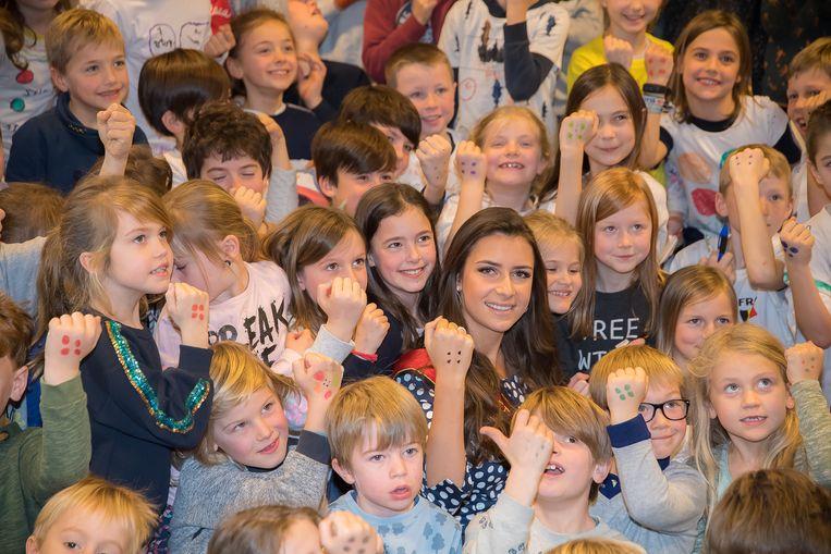 Miss België Elena Castro Suarez tegen pesten