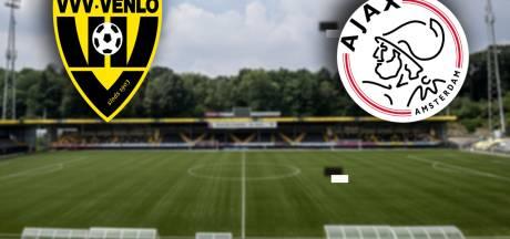 LIVE | Ajax met Antony, Klaiber, Traoré en Ekkelenkamp begonnen aan VVV-uit
