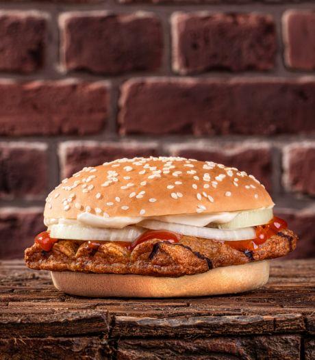 Nieuwe burger van Burger King: frikandel speciaal in een broodje