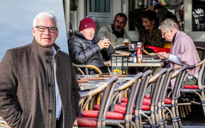 Burgemeester Piet De Groote is overtuigd dat de terrassen veilig kunnen openen.