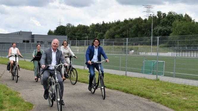 Nieuw stuk fietspad verbindt Lanaken-centrum met deelgemeente Gellik