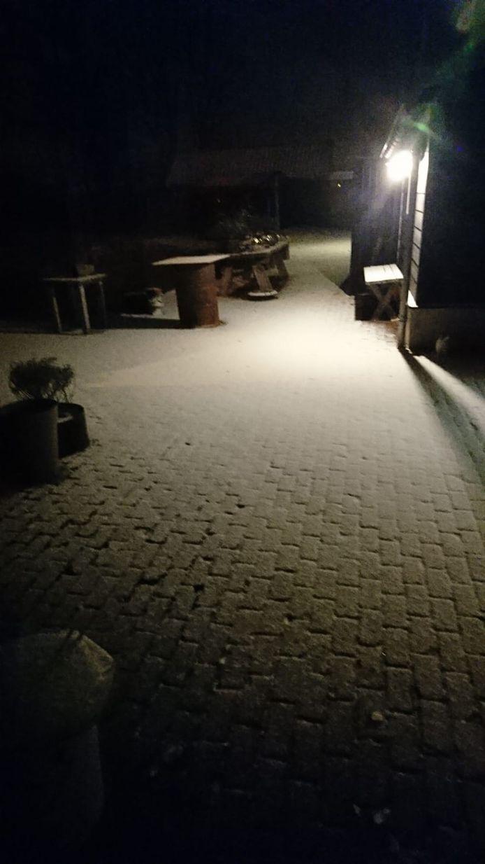 Sneeuw in Mariaheide