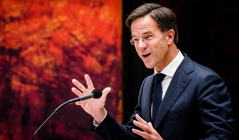 Vlaams schrijver Ivo Victoria over Mark Rutte: 'Hij rijdt gewoon op de fiets door Den Haag. Er is altijd een gesprek mogelijk met hem. Dat is een grote kwaliteit voor een politicus.'  Beeld ANP