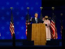 Zelfverzekerde Biden spreekt fans toe: 'Heb geduld, we gaan dit winnen'