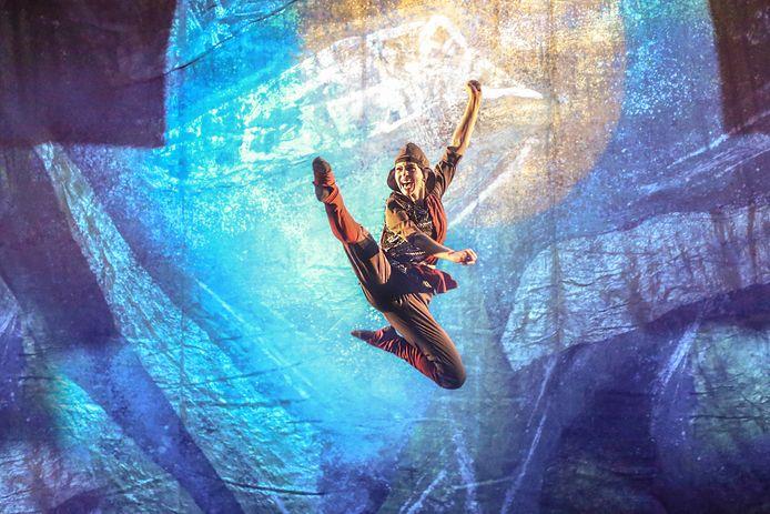 Scène uit de dansvoorstelling Magic of Georgia