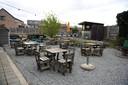 TOURNEE GENERALE: vooruitblik op het terras van De Sortie in Oud-Heverlee