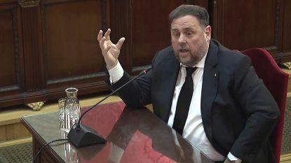 """Catalaanse ex-vicepremier op proces: """"Stemmen is geen misdaad. Stemmen verhinderen wel"""""""