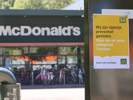 'Medewerker van McDonalds aan De Werf positief getest op corona', filiaal sluit de deuren