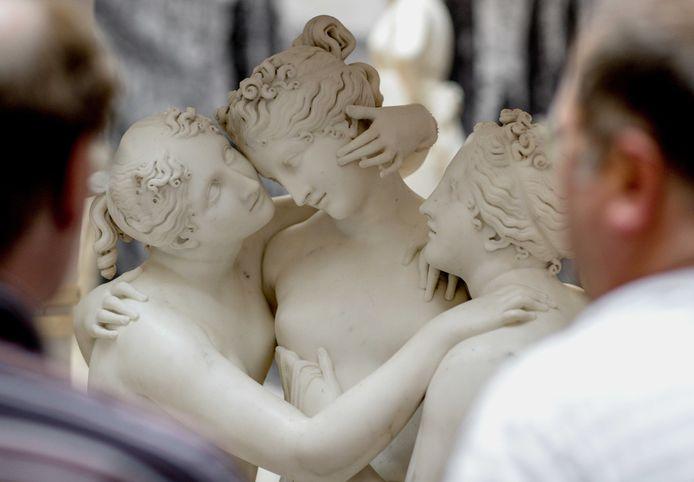 Een ander kunstwerk van de Italiaanse beeldhouwer Antonio Canova.