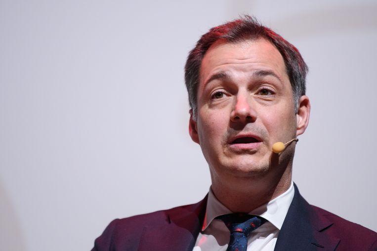 Alexander De Croo, vicepremier en minister van Ontwikkelingssamenwerking. Beeld Photo News
