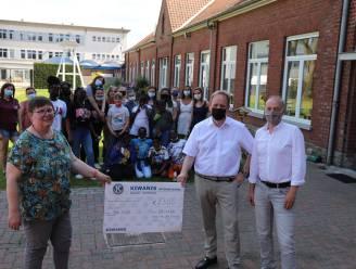Kiwanis Tirimont schenkt extra duwtje in de rug voor verbouwingen Don Bosco Internaat