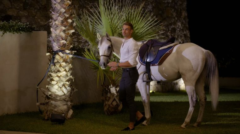 Marvin, de gewilde prince charming in Videolands nieuwe datingshow 'Prince Charming'. Beeld Videoland