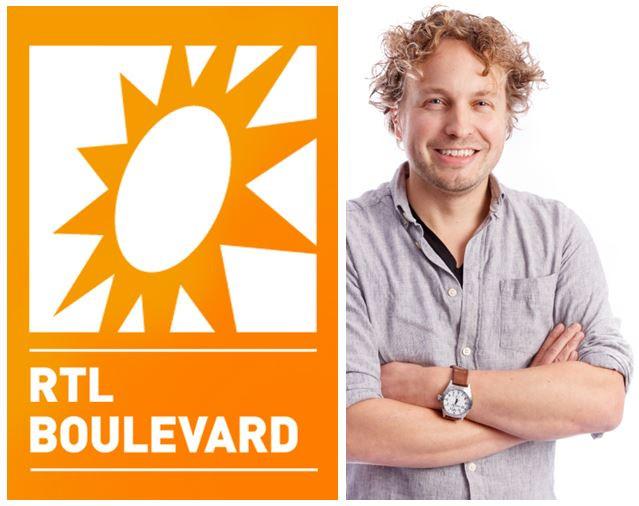 Leuk, je bent bij RTL Boulevard, kreeg columnist Niels Herijgens te horen. Toch was de aanleiding minder gezellig.