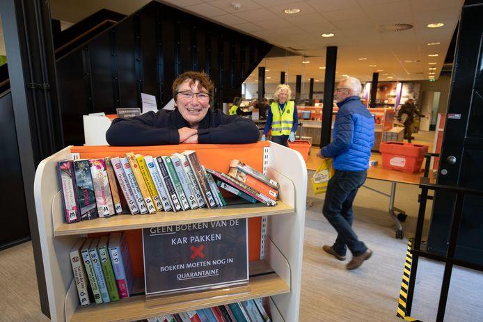 Annette Schol is directeur van de bibliotheek in Kampen