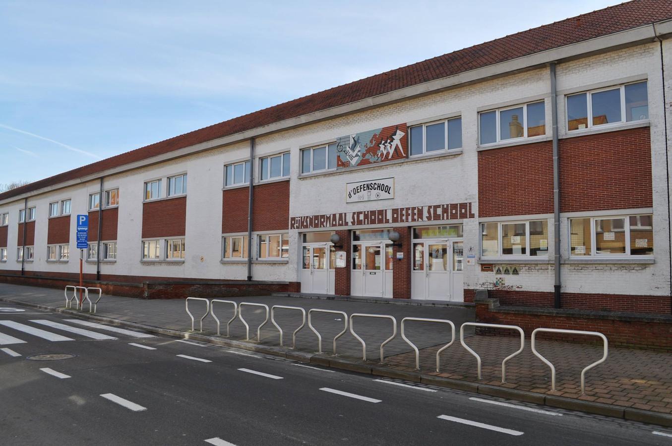 d'Oefenschool in Blankenberge