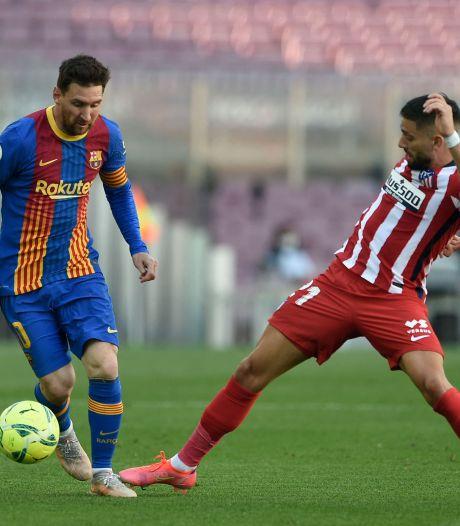 L'Atlético et le Barça se neutralisent, le Real Madrid n'en profite pas
