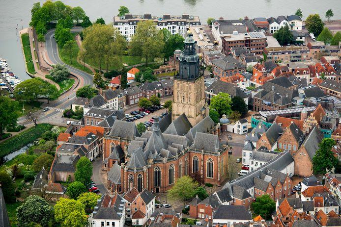 Zutphen aan de Berkel en de IJssel.
