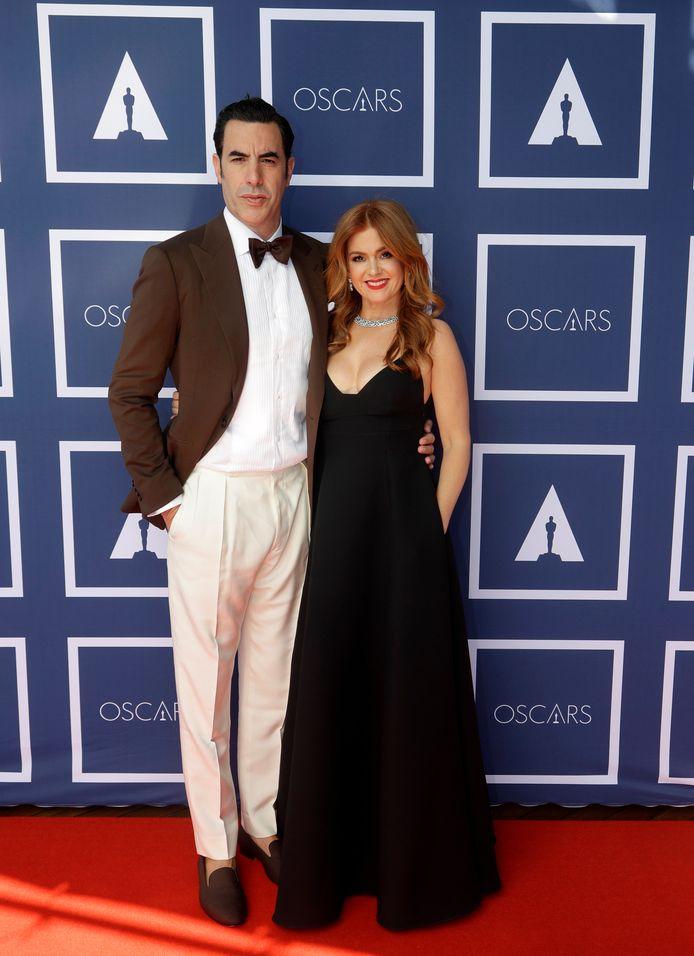 Sacha Baron Cohen et Isla Fisher