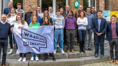 Studenten Sint-Joris overhandigen klimaatmemorandum