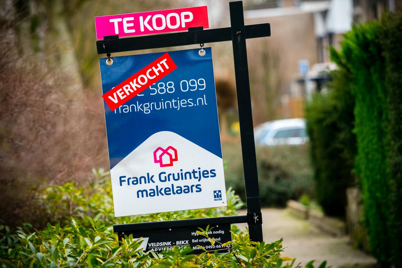 Huizen zijn snel verkocht en in de meeste gevallen voor een hoger bedrag dan de vraagprijs.