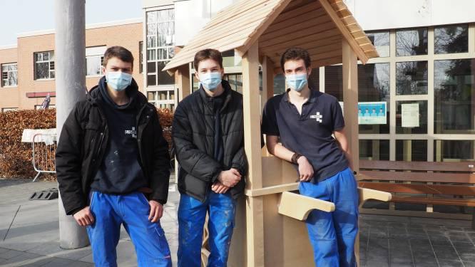 """Leerlingen TSM bouwen """"ijskar van de hoop"""" voor woonzorgcentrum De Lisdodde: """"Onze bewoners krijgen hun glans terug"""""""