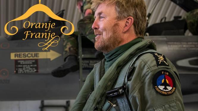 Willem-Alexander verruilt maatpak voor F16-uniform (en dat staat hem meer dan goed)