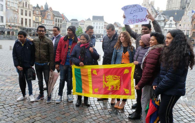 Stille wake voor Sri Lanka in Mechelen