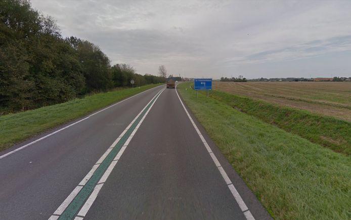 De Sloeweg vlakbij 's-Heerenhoek