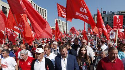 Poetin verhoogt pensioenleeftijd voor vrouwen: duizenden Russen trekken straat op