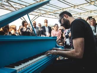 123 piano komt terug, met vijf vaste en twee mobiele piano's