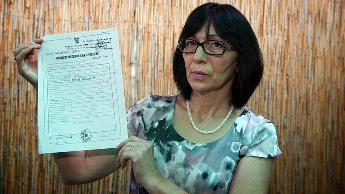 Mirjana Novokmet, mère d'un bébé disparu