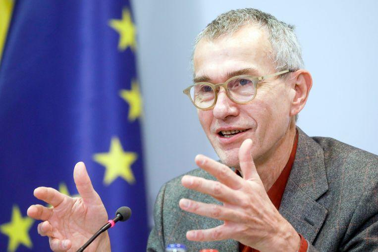 Federaal minister van Volksgezondheid Frank Vandenbroucke (sp.a). Beeld Photo News