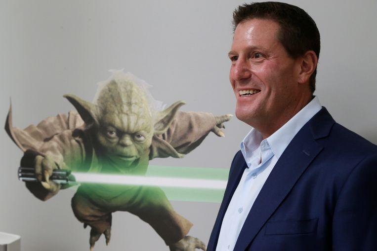 Kevin Mayer, topman van TikTok.  Beeld AP