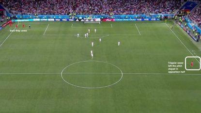 De intelligentste (en ook gewoon heel onbaatzuchtige) actie op dit WK viel in Engeland - Tunesië te bewonderen