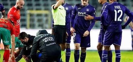 Le match amical Anderlecht - Ostende annulé faute de joueurs disponibles