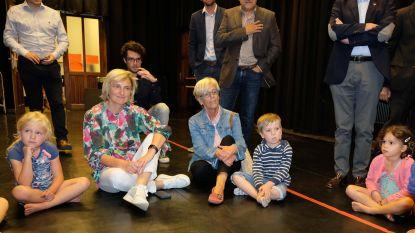Minister Hilde Crevits bezoekt Academie Muziek, Woord en Dans