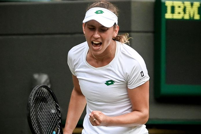Eliminée en simple, Elise Mertens a encore le double à disputer à Wimbledon avant de penser aux Jeux.