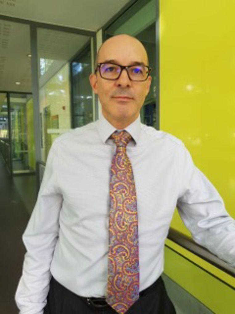 Onderwijsdeskundige Daniël Muijs, die een nieuwe manier van lesgeven in het basisonderwijs voorstaat. Beeld